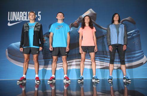 Кроссовки Nike LunarGlide+5: красота без жертв
