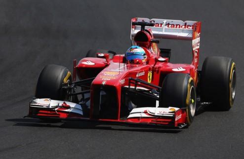 Формула-1. Феррари ищет решение проблем с резиной