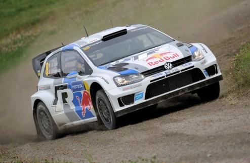 WRC. Ралли Финляндии. Ожье выходит в лидеры
