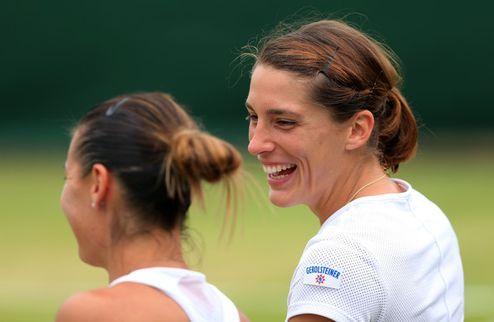 Вашингтон (WTA). Петкович — первая полуфиналистка, Кербер вылетает