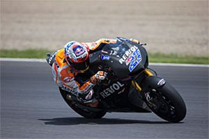 MotoGP. Стоунер завершил тесты с Хондой