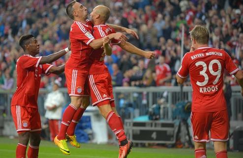 Бавария победой открыла сезон в Бундеслиге