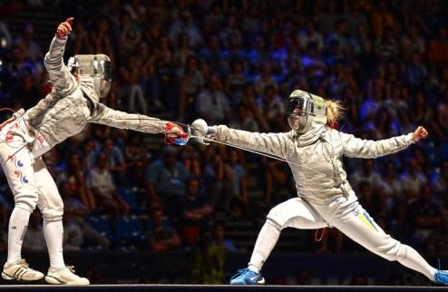 Фехтование. Харлан — чемпионка мира!