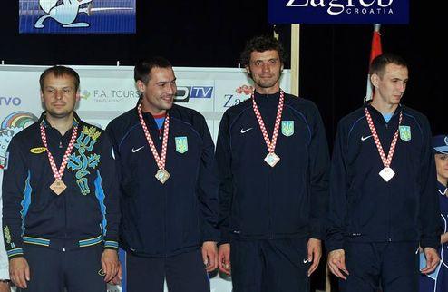 Фехтование. ЧМ. Украинские шпажисты берут серебро