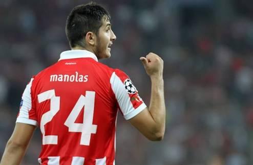 Манолас попал в поле зрения Динамо