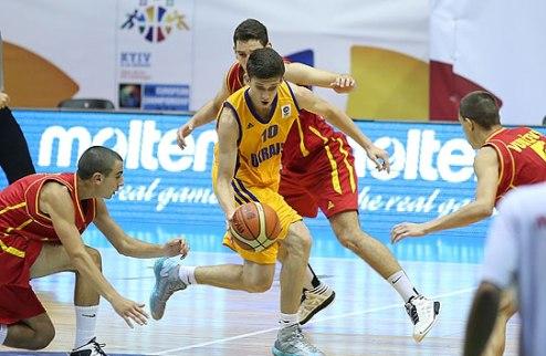 Чемпионат Европы U-16. Украина выстояла против Черногории