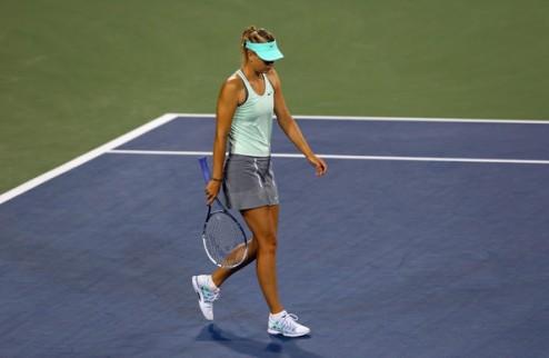 Цинциннати (WTA). Неудачи Гергес и Иванович, Стивенс неожиданно выбивает Шарапову