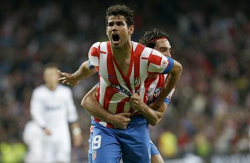 Официально: Диего Коста продлил контракт с Атлетико