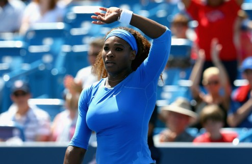 Цинциннати (WTA). Волевые победы Серены и На Ли, вылет Винус