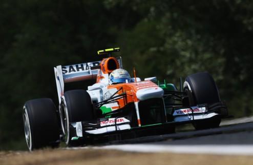 Формула-1. Сутиль рассчитывает на новый контракт с Форс Индией