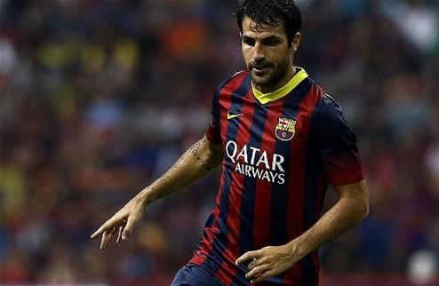 МЮ — Барселоне: 40 млн фунтов за Сеска