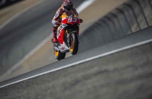 MotoGP. Гран-при Индианаполиса. Маркес выигрывает первую практику