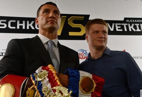 Билеты на бой Кличко vs. Поветкин поступили в продажу