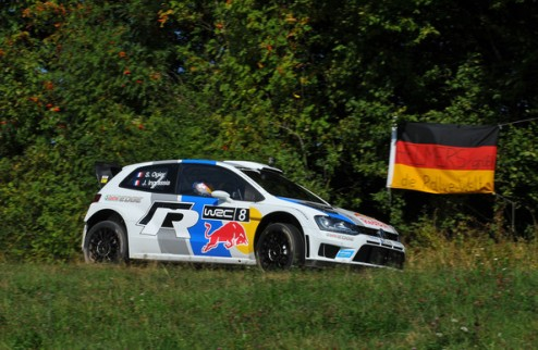 WRC. Ралли Германии. Ожье выигрывает пролог