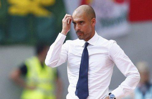 УЕФА не пригласил Гвардиолу на сбор элитных тренеров