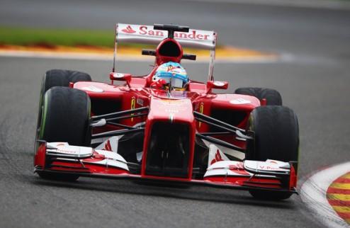 Формула-1. Алонсо доволен результатом гонки в Спа