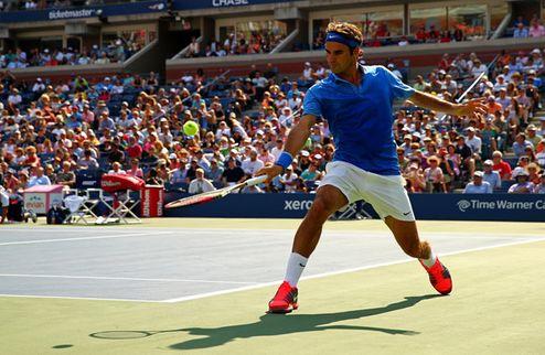 US Open. Уверенный старт Федерера, разминка для Бердыха и Джоковича