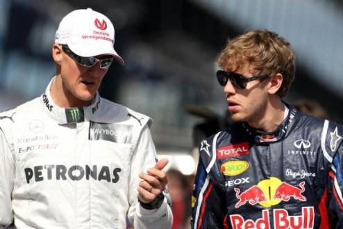 Формула-1. Шумахер: Феттель может выиграть семь титулов