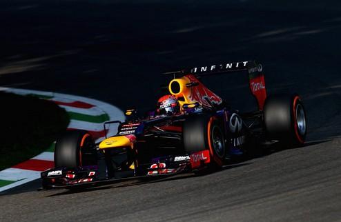 Формула-1. Гран-при Италии. Феттель выигрывает вторую практику