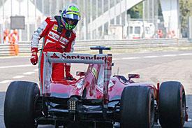 Формула-1. Феррари: штраф за инцидент Массы