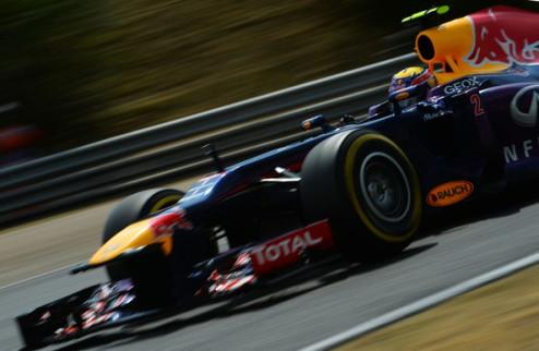 Формула-1. Уэббер рассчитывает на удачную гонку