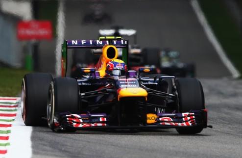Формула-1. Уэббер доволен подиумом в Монце
