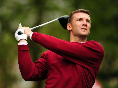 Андрей Шевченко не собирается играть в гольф на Олимпиаде