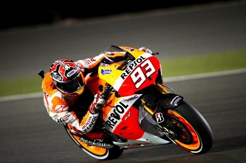 MotoGP. Гран-при Сан-Марино. Поул Маркеса, первый ряд Росси