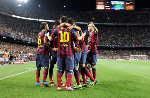 Барселона вырвала победу над Севильей