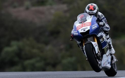 MotoGP. Гран-при Сан-Марино. Лоренсо выигрывает разогрев