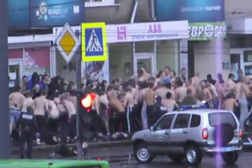 56 фанатов Металлиста и Динамо задержано милицией