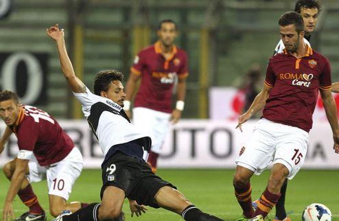 Рома — один из лидеров в Серии А