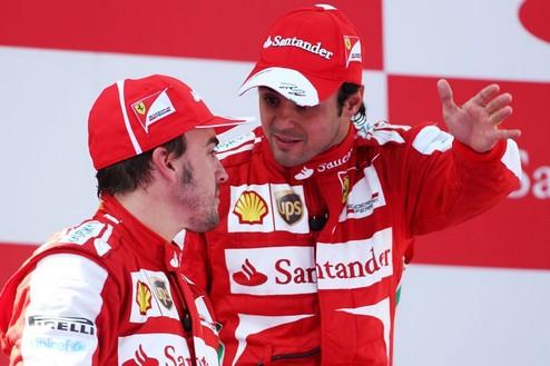 """Формула-1. Масса: """"Отныне не буду помогать Алонсо"""""""