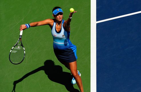 Сеул (WTA). Гергес и Бек покидают турнир, Скьявоне идет дальше