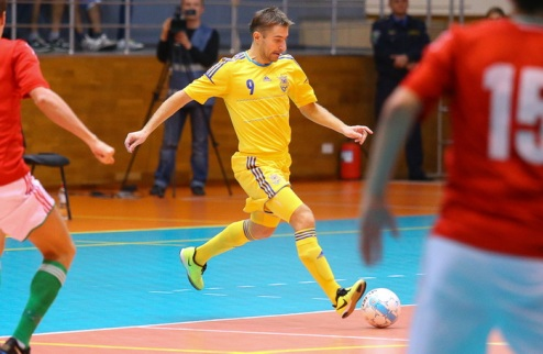 Футзал. Накануне ответного матча с Венгрией Украина сыграет с Энергией