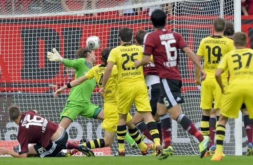 Дортмунд подпускает Байер