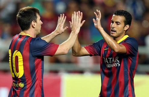 Барселона и Атлетико продолжают делить лидерство