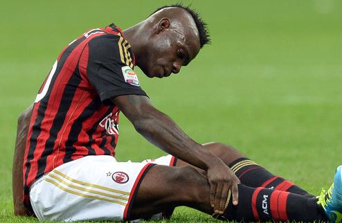 Милан оспорит дисквалификацию Балотелли