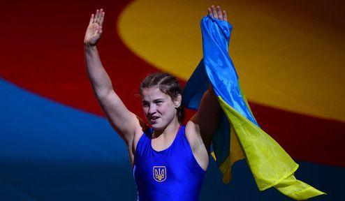 """Борьба. Чемпионка мира Махиня: """"Я буду и дальше выступать за Украину"""""""