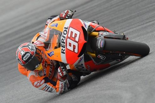 MotoGP. Гран-при Арагона. Маркес выигрывает вторую практику