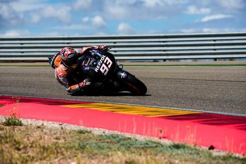 MotoGP. Гран-при Арагона. Маркес выигрывает свободные заезды