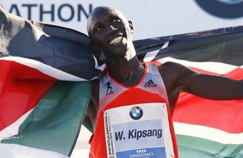 Легкая атлетика. Кипсанг побеждает на Берлинском марафоне с новым мировым рекордом