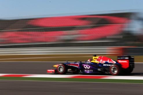 Формула-1. Гран-при Кореи. Феттель выигрывает третью практику