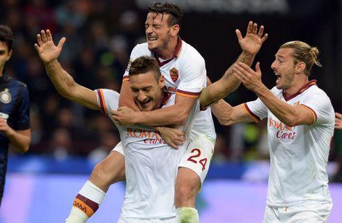 Рома сокрушила Интер в Милане
