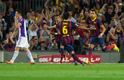 Барселона не оставила шансов Вальядолиду