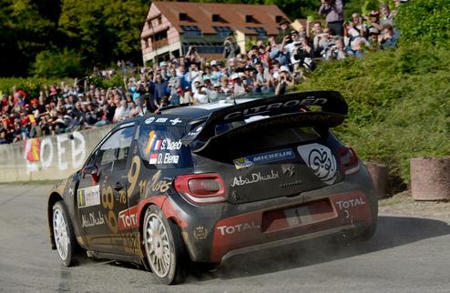 WRC. Леб попал в аварию во Франции