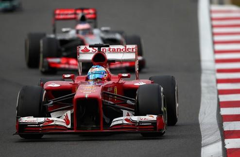 """Формула-1. Алонсо: """"Контакт с Массой не повлиял на мою гонку"""""""