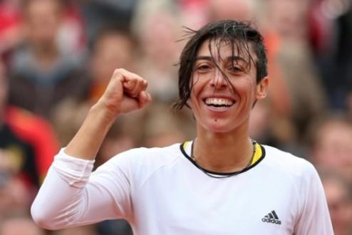 Линц (WTA). Скьявоне во втором круге