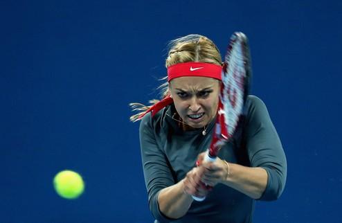 Осака (WTA). Неудача Пеннетты, победы Киз и Лисицки