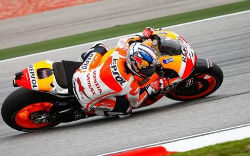 MotoGP. Гран-при Малайзии. Педроса задает темп